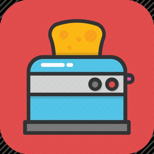 electronics, kitchen appliance, toast, toast machine, toaster icon