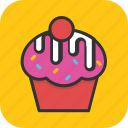 bakery, cupcake, dessert, food, muffin