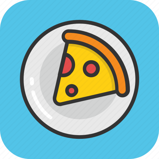 fast food, italian food, junk food, meal, pizza icon