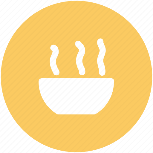 Food, hot soup, bowl, meal, soup bowl icon