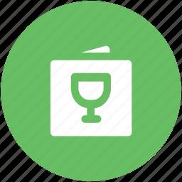 drink menu, food menu, menu card, restaurant menu, wine menu icon