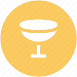 alcoholic, cocktail, crystal, glass, wine glass icon
