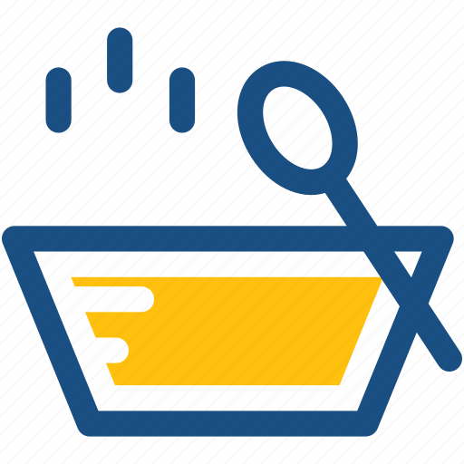 hot food, hot soup, meal, soup, soup bowl icon