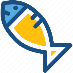 cooked fish, fish, food, healthy food, seafood icon