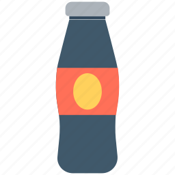 cola, cola bottle, drink, fizzy drink, soda pop icon