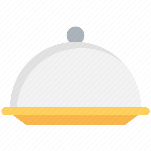 food platter, food serving, hotel service, platter, serving platter icon
