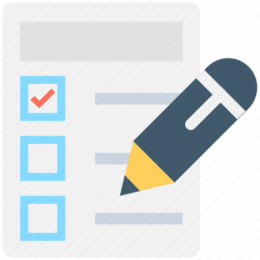 checklist, checkmark, list, task, to do icon