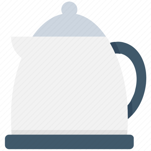 electric kettle, electricals, kitchen appliance, tea kettle, tea maker icon