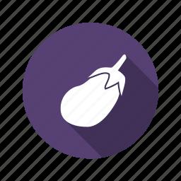 eggplant, food, vegetable icon