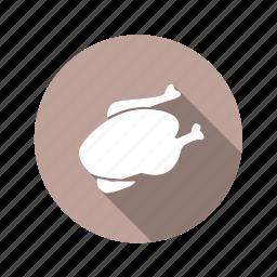 chicken, duck, food, turkey icon