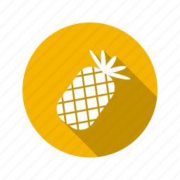 ananas, food, fruit, pineapple, sweet icon