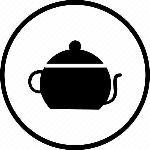 appliances, boil, food, jar, kitchen, pot, tea icon