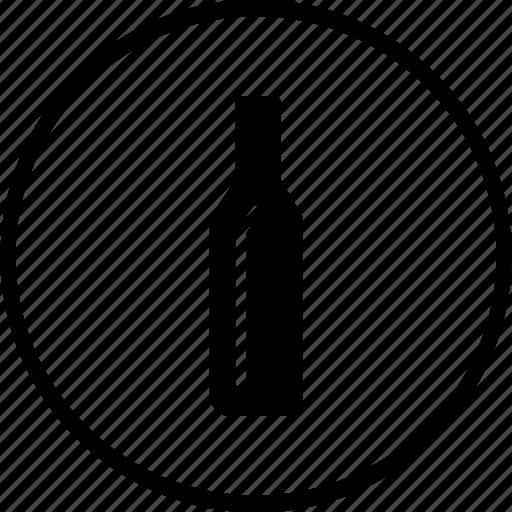 alcohol, bottle, drink, food, kitchen, restaurant, wine icon