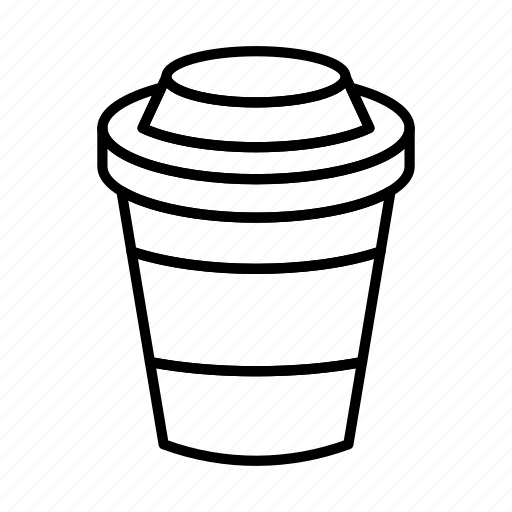 coffee, coffee cup, coffee take away, cup, drink, paper cup, plastic icon
