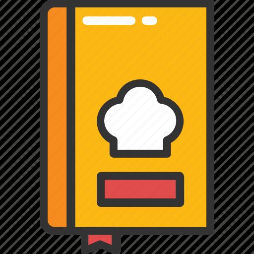 bill of fare, cuisine, menu, menu book, menu card icon