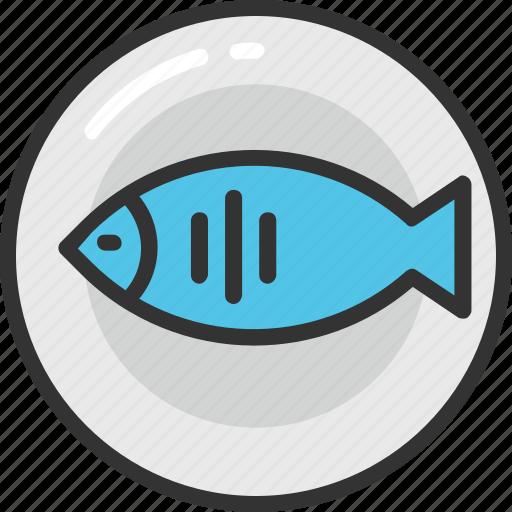 fish, food, healthy food, nutrition, seafood icon