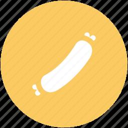 bratwurst, hot dog, meat, sausage, wiener icon
