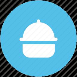 food platter, food serving, platter, restaurant, serving platter, wedding platter icon