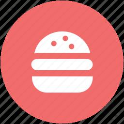 burger, cheeseburger, fast food, hamburger, junk food icon