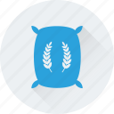 cereal, flour, grain, wheat, wheat sack icon