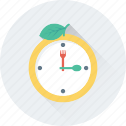 clock, dinner, lunch, lunch time, meal, time icon