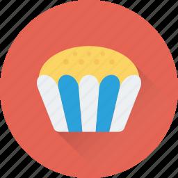 bakery, cupcake, dessert, food, muffin icon