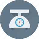 gadget, kitchen scale, scale, weight scale icon