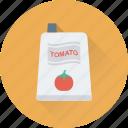 fast food, food, ketchup, sauce, tomato ketchup icon