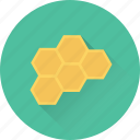 beehive, beeswax, food, honey, honeycomb icon