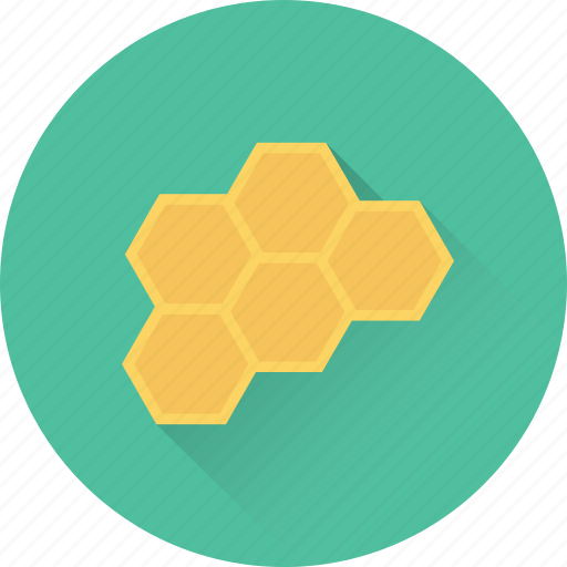 beehive, beeswax, food, honey, honeycomb icon