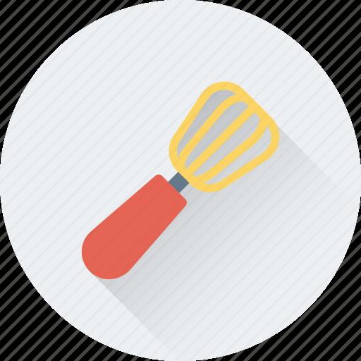 cutlery, kitchen, skimmer, spatula, utensils icon