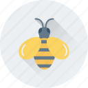 bee, beehive, honey, honey bee, insect icon