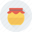 beeswax, food, honey, honey jar, organic icon