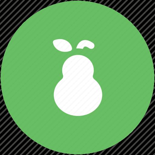 food, fruit, healthy food, nutrition, organic, pear icon