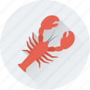 food, lobster, seafood, nephropidae, diet icon