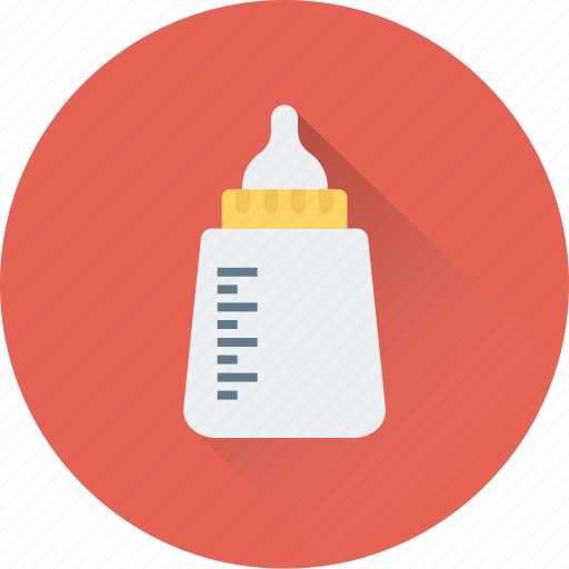 baby bottle, bottle, feeder, food, milk icon