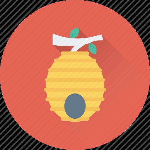 Food, beehive, beeswax, honey, honeycomb icon