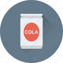 can, cola, drink, soda tin, tin pack icon