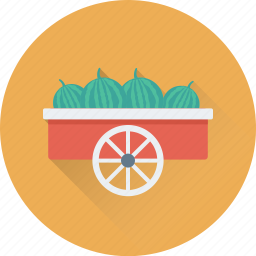 food, food stand, food truck, vending cart, vendor icon