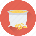 cauldron, cooking, cooking pot, meal, soup icon