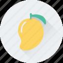 nutrition, fruit, juicy fruit, stone fruit, mango icon