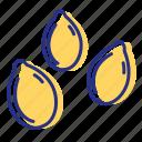 allergen, seeds, sesame icon