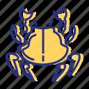 crab, seafood, shellfish icon