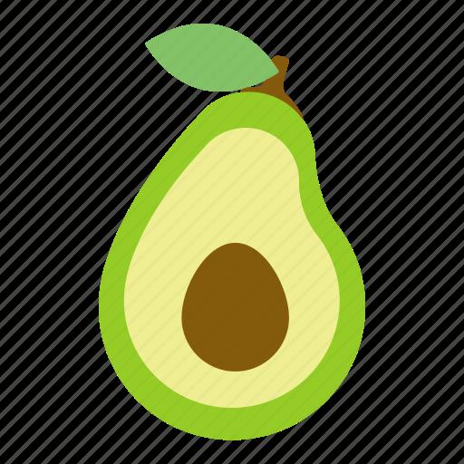 avocado, food, fruit, health icon