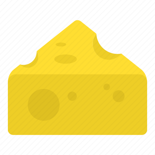 cheese, food, yellow icon
