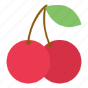 cherry, fruit, garden