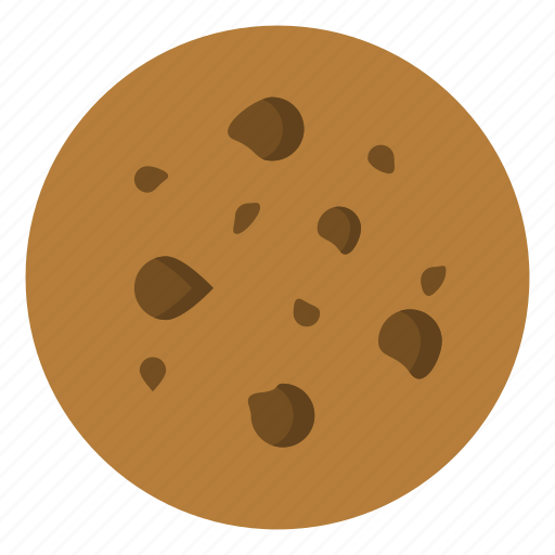chocolate, cookie icon