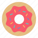 food, dessert, donut, sweet icon