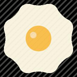 breakfast, egg, fried egg icon