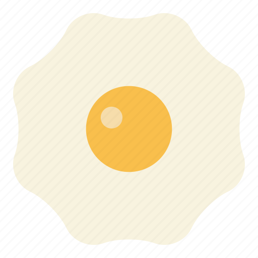 breakfast, egg, fried egg icon